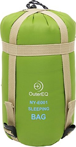 OuterEQ Sleeping Bags Camping Hiking Sleeping Bag Army