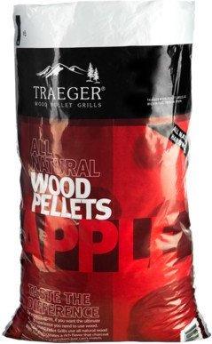 Traeger PEL318 Apple Pellets Bag, 20 lb